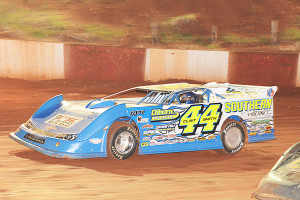 Clint Smith on his way to a win