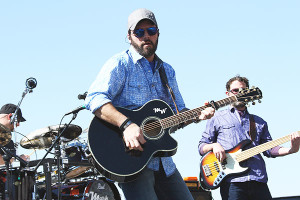 Pre-race concert: Blue Ridge, GA star Mark Willis.