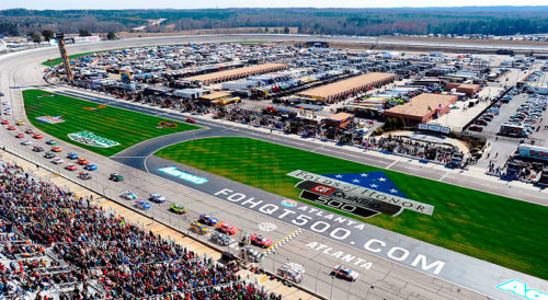 RACE WEEK ARRIVES IN ATLANTA ALONG WITH SEVERAL INTRIGUING STORYLINES