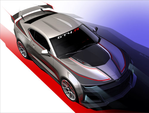 Chevrolet Unveils Camaro GT4.R Racer for 2017 Competition
