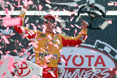 Joey Logano charges from the back to win at Richmond