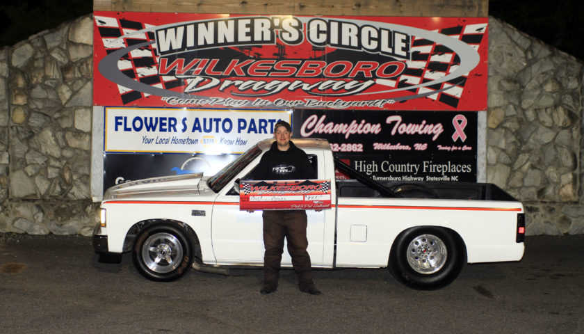 Johnson, Greer, Brewer and Ravis Victorious At Wilkesboro Dragway