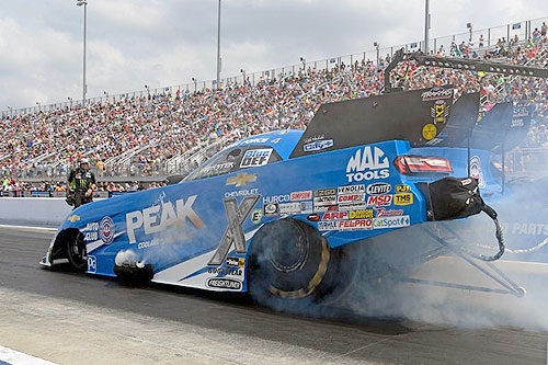 Can birthday boy John Force break through with his eighth Funny Car victory at Atlanta Dragway?