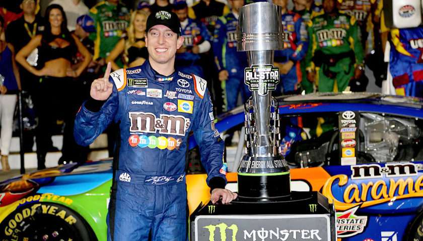 MENCS Recap: Kyle Busch finds his mojo at Charlotte with Monster Energy All-Star Race win