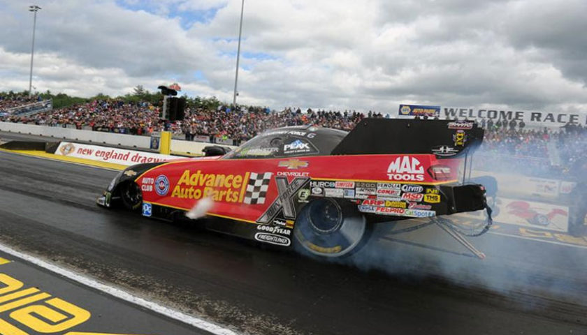 Courtney Force, John Force thankful for Simpson Performance Products after explosion in Epping