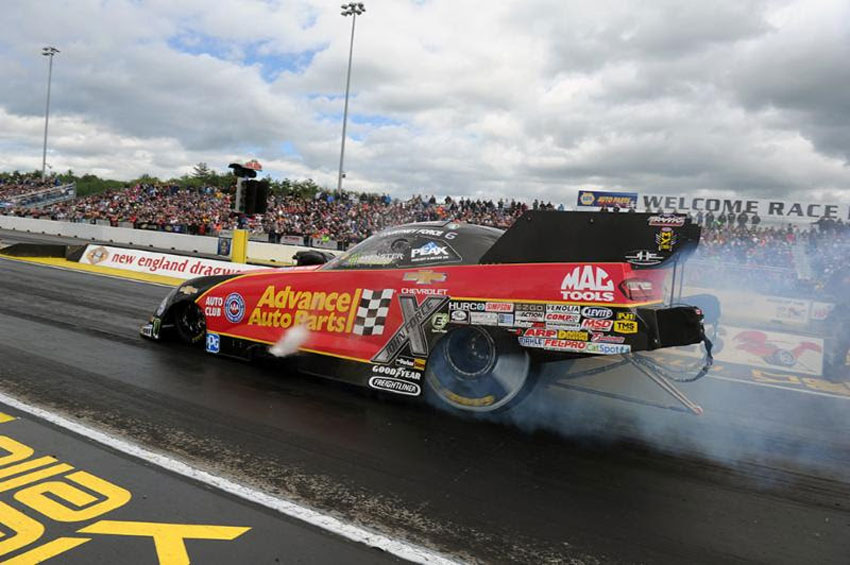 Courtney Force John Force Thankful For Simpson
