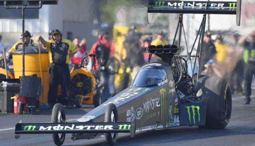 Racing with dad on Father's Day 'always special' for Monster Energy driver Brittany Force