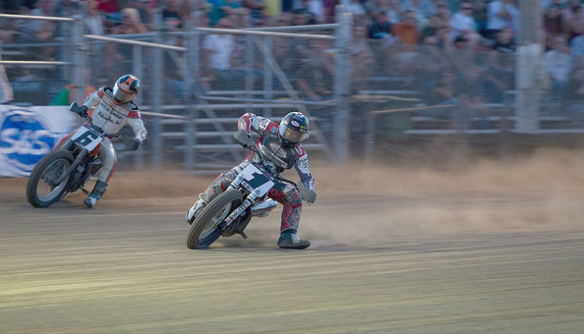 American Flat Track Hits The Pea Gravel For The Lima Half-Mile Presented By Indian Motorcycle