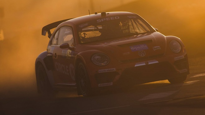 Speed claims third straight Red Bull Global Rallycross title