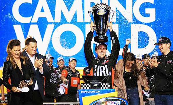 Christopher Bell takes NASCAR Camping World Truck Series title; Chase Briscoe gets first win